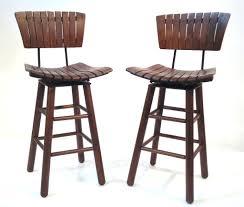 Stool For Kitchen Island Stunning Swivel Bar Stools For Kitchen Island Brown Wooden Swivel