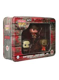 freddy krueger sweater spirit halloween funko horror pocket pop jason voorhees freddy krueger u0026 sam set