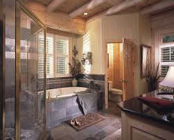 Log Cabin Bathroom Accessories by Log Cabin Bathrooms Log Home Master Bathrooms Log Cabin U0027s Smoky