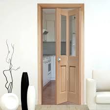 Kitchen Door Designs Decor Natural Wood Glass Bifold Doors For Elegant Kitchen Door Design