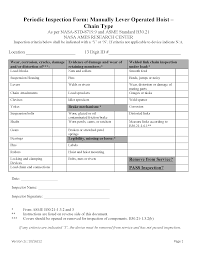 100 workplace safety inspection template 4 employee