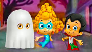 bubble guppies halloween party game nick jr games brodigames