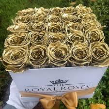 gold roses real luxury roses which last more than 1 year the royal roses