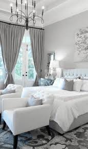 Bedroom With Grey Curtains Decor White Bedroom Curtains Decorating Ideas Functionalities Net