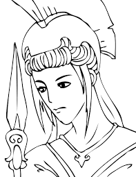 eros the greek god of love coloring page coloring page countries