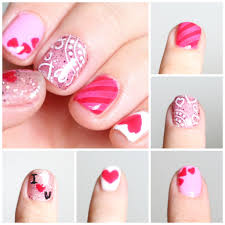 gelish stamping nails valentine u0027s day gelish pinterest