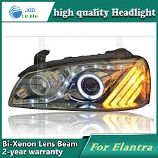 hyundai elantra 2005 headlight bulb aliexpress com buy car styling l for hyundai