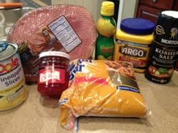 thanksgiving ham glaze two frugal gals