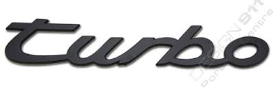 porsche turbo logo turbo badge porsche 944 95155909300 design 911