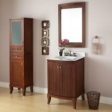 bathroom artistic brown 24 inch bathroom vanity cabinet with