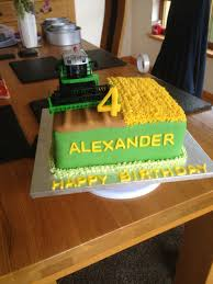 combine harvester cake jacobs 6th bday pinterest combine