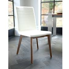 White Leather Dining Room Chairs White Leather Dining Chairs Parquet Dining Chair Leather