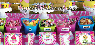 the birthday ideas shopkins birthday party ideas easy planning cupcakemakeover