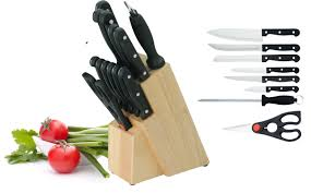 kitchen knives block set utica cutlery company 14 piece knife block set u0026 reviews wayfair