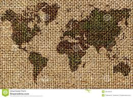 World Map Fabric by World Map Drawn On A Rough Old Fabrics Stock Photo Image 35542640