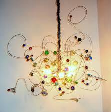 halogen oder led deckenlampen draht kronleuchter bunt glas led halogen kerzen