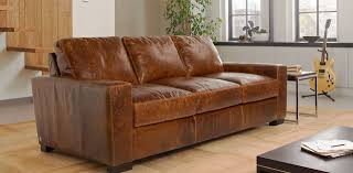 Worn Leather Sofa Tan Leather Sofa Set Collection All About Home Design Jmhafen Com