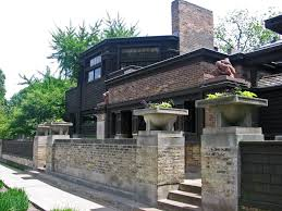 Frank Lloyd Wright Houses Chicago Map by Frank Lloyd Wright Home And Studio Mapio Net