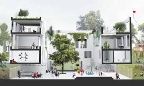 housing designs private rental housing design competition e architect