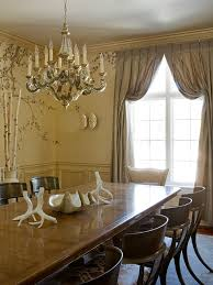 formal dining room window treatments love the drapery treatment by agnes dembowski blinds