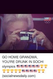 Sochi Meme - nprmor donp go home grandma you re drunk in sochi olympics
