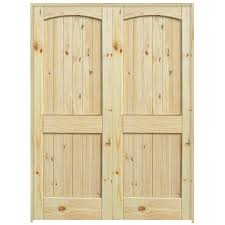 Exterior Pine Doors 36 2 Panel Arch Top Knotty Pine Interior Door Unit