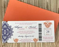 Indian Wedding Invitation Indian Wedding Invitation Etsy