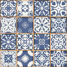 moroccan tile gorgeous seamless patchwork pattern dark blue white moroccan tiles