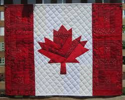 red u0026 white maple leaf quilts neighbours in the hood