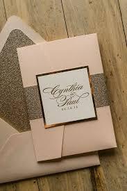 Pocket Invites Best 25 Glitter Wedding Invitations Ideas On Pinterest Bling