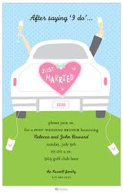morning after wedding brunch invitations post wedding brunch invitations we like design