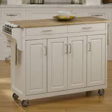 Natural Wood Kitchen Island White Kitchen Islands U0026 Carts You U0027ll Love Wayfair