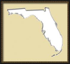 The Map Of Florida by Florida