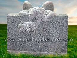 design a headstone angel headstones custom designs for angel headstones
