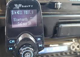 fm modulator apk review savfy bluetooth fm transmitter radio car kit wirelesshack