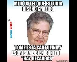 El Meme - los mejores memes de la abuelita mijo ud que candela est礬reo
