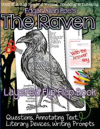 activities for teaching the raven middle ela english