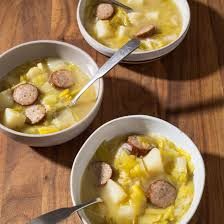 country style potato leek soup with kielbasa cook u0027s illustrated