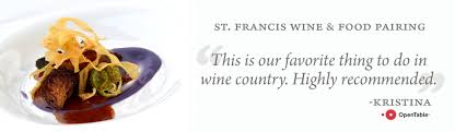thanksgiving wine pairing wine and food pairing st francis winery