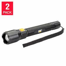 cat rechargeable led work light costco cat aluminum focus beam led flashlight 2 pack