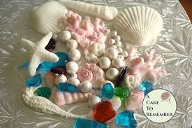 the sea decorations the sea party cake decorations for themed party