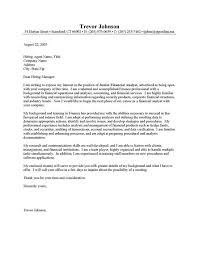 trend cover letter for a finance job 94 about remodel cover letter
