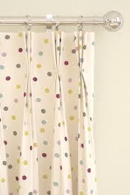 Polka Dot Curtains Polka Dot Curtains By Bridgewater Pink Grey Yellow