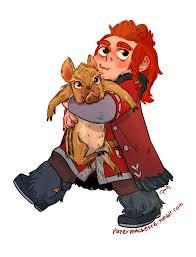 The Hobbit Kink Meme - rupert the not a war hog anyjen the hobbit all media types
