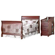 Sorelle Princeton 4 In 1 Convertible Crib Sorelle Furniture Tuscany Princeton Convertible Crib With 4 Drawer