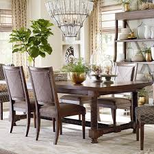 Dining Tables by Compass Trestle Dining Table