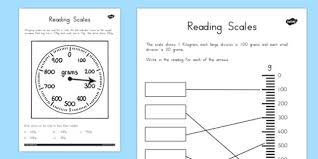 reading scales worksheets australia reading scales