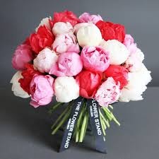 peonies flowers luxury peony bouquet mixed peonies same day delivery flowers