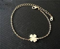 lucky leaf bracelet images Shamrock lucky four leaf clover bracelet for women the enchanted jpeg