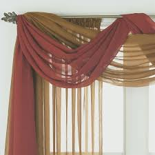Make Your Own Curtain Rod Charming Curtain Swag Ideas 11 For Your Extra Long Curtain Rods
